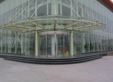 Trung Quốc Arc shape Automatic Curved Sliding Door OF Unique Aluminum Track design nhà máy sản xuất