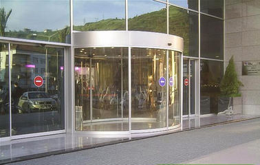 Trung Quốc Full or semi circle Concave or convex version arc door / curved glass doors nhà máy sản xuất