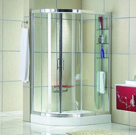 Trung Quốc Automatic Curved interior Home frosted glass frameless shower doors nhà phân phối