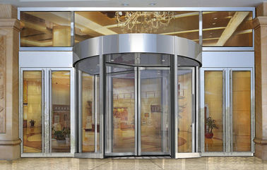 Trung Quốc Building Entry automatic revolving door for PLA Academy of Military Sciences university nhà máy sản xuất